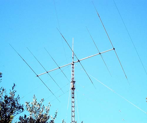 F5AD antenne Yagi tribande TH6